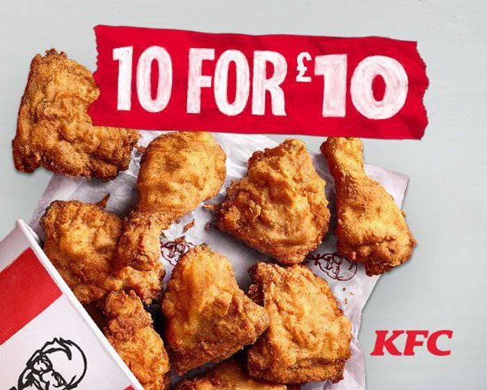 KFC - 10 Pieces For £10
