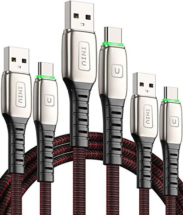 DEAL STACK -3 Pack INIU USB C Cable