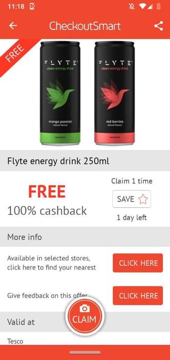 Flyte Energy Drink