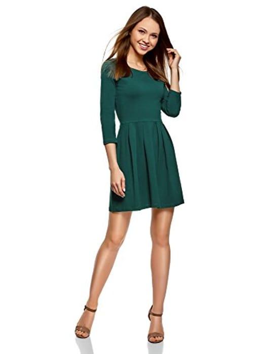 Oodji Ultra Women's Slim-Fit Jersey Dress