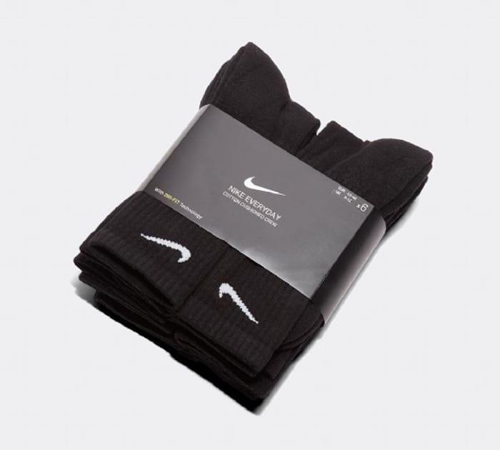 6 X Nike Everyday Cushioned Socks - £12.74 With Code