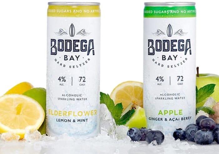 2 Free Bodega Bay Hard Seltzer 4% Alc at Morrisons, Supervalu Etc via Shopmium