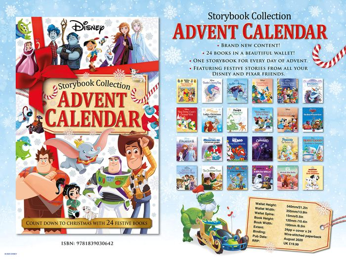 Cheap Disney Storybook Collection Advent Calendar (24 Books) at Amazon