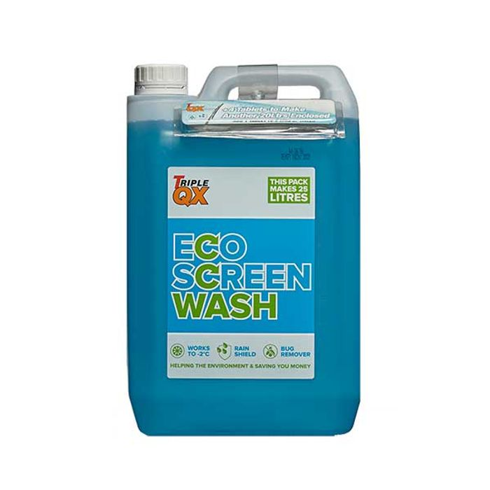 5 Litres Of Ready Mixed Screenwash + Refill Tablets (25l Total) - £2.73