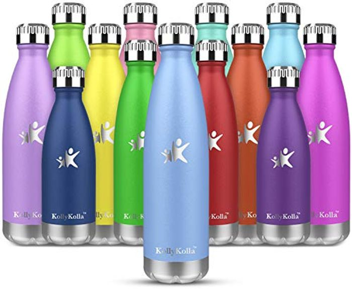 DEAL STACK - KollyKolla Stainless Steel Vacuum Insulated Water Bottle