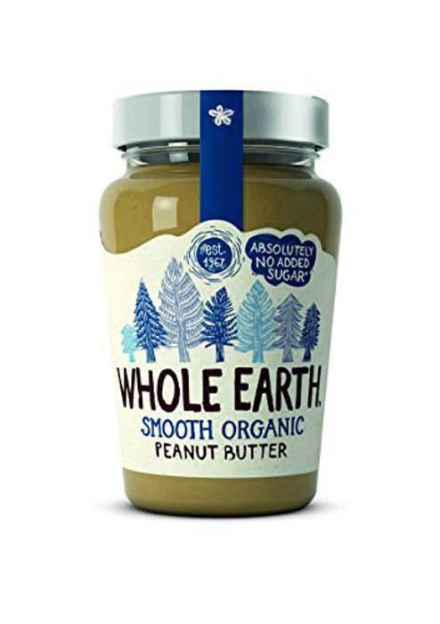 Whole Earth Organic Smooth Peanut Butter, 340g