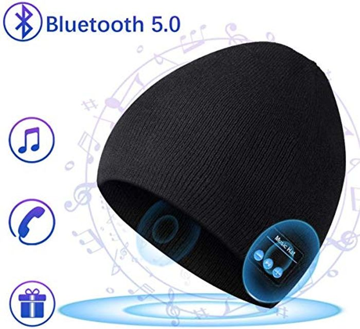DEAL STACK - COTOP Bluetooth 5.0 Music Beanie