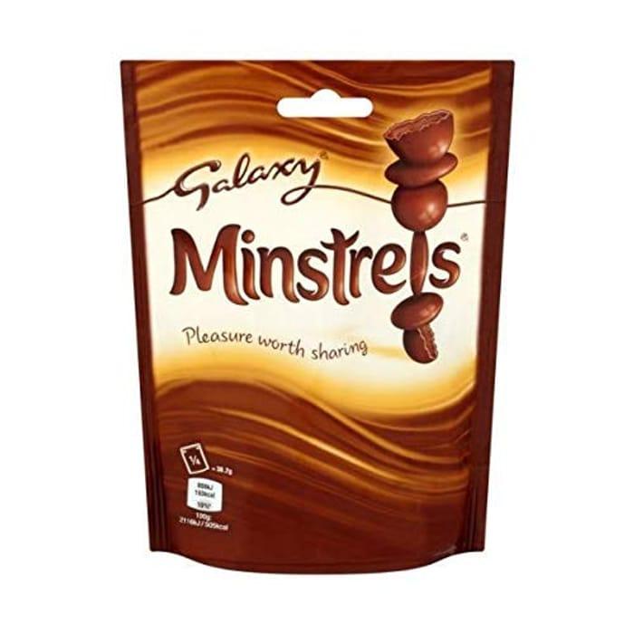 Galaxy Minstrels Chocolate Pouch Bag, 125 G