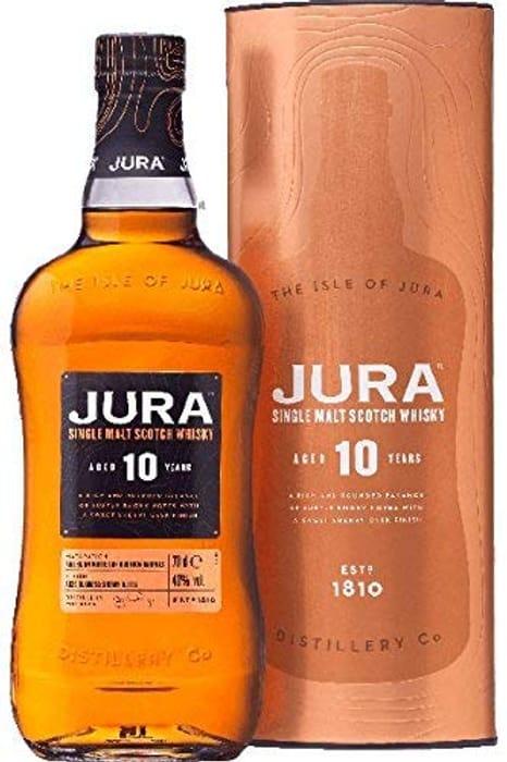 Jura 10 Year Old Single Malt Whisky, 70cl