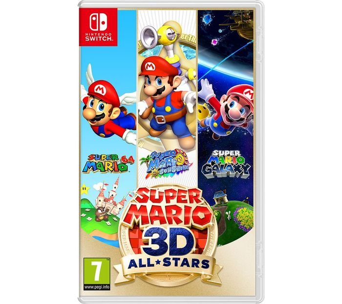 Nintendo Switch Super Mario 3D All-Stars - £39.99 with Code