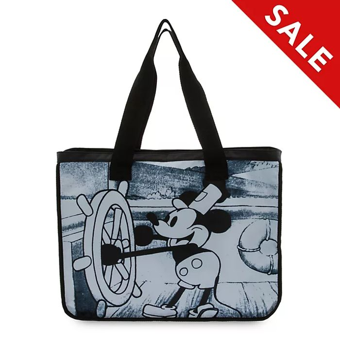 Disney Store Steamboat Willie Tote Bag
