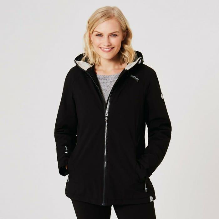 Regatta Corvelle Womens/Ladies Waterproof Insulated Jacket -Black
