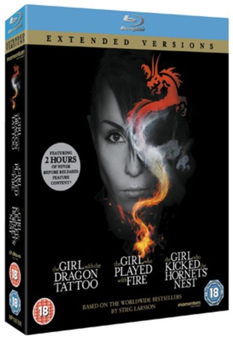 The Girl... Trilogy - Extended Versions [Blu-Ray] - Only £6.99!