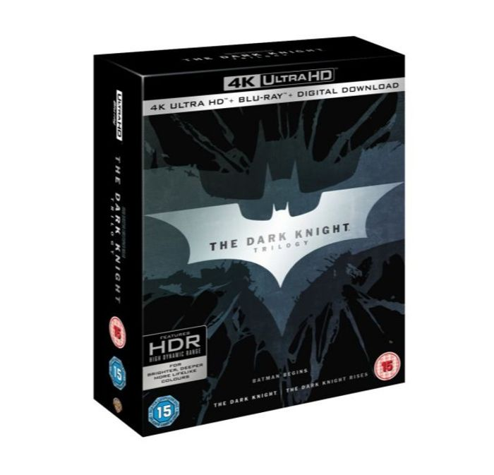 The Dark Knight Trilogy (4K Ultra HD + Blu-Ray) - Only £26.99!
