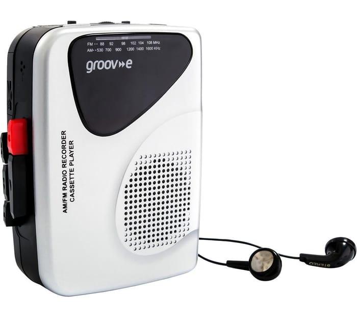 Best Price! GROOV-E Retro Personal Cassette Player & Recorder - Silver