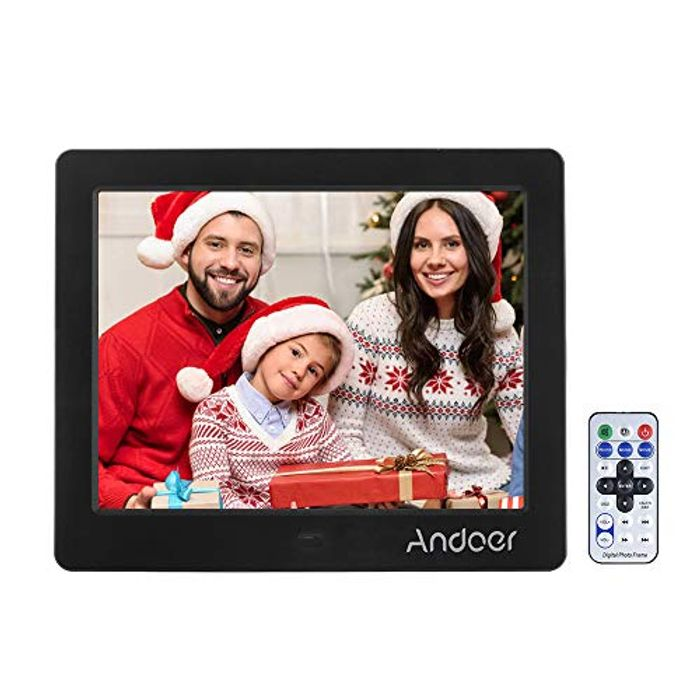 Andoer 8 Inch HD Digital Photo Picture Frame - Only £15.9!