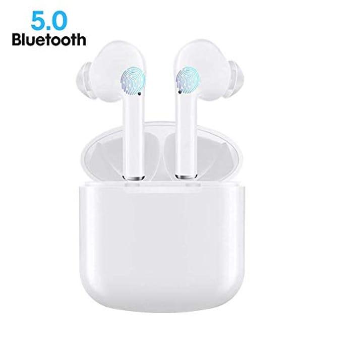 Lightning Deal! Bluetooth 5.0 Wireless Headphones