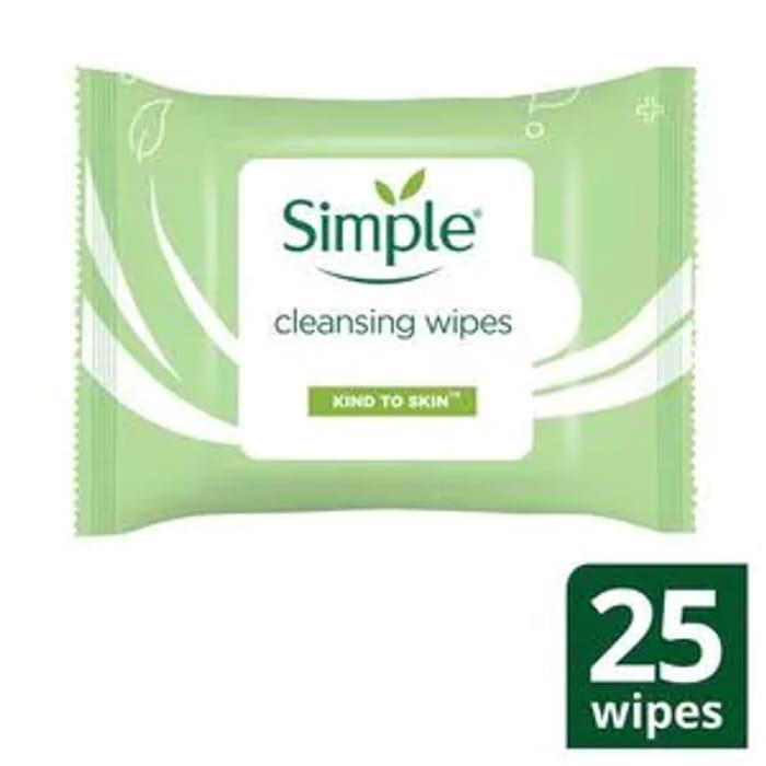 Simple Wipes Were £3.65 Now £1.45 + BOGOF - 73p Each!