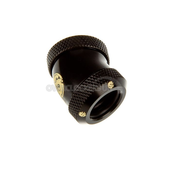 Matt Black Enhance 30-Degree Dual Multi-Link Adapter for Od 12mm