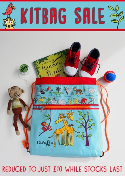 Kitbag s.a.l.e Kids Drawstring Bags