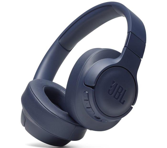 JBL Tune 750BTNC Wireless Bluetooth Noise-Cancelling Headphones - Blue