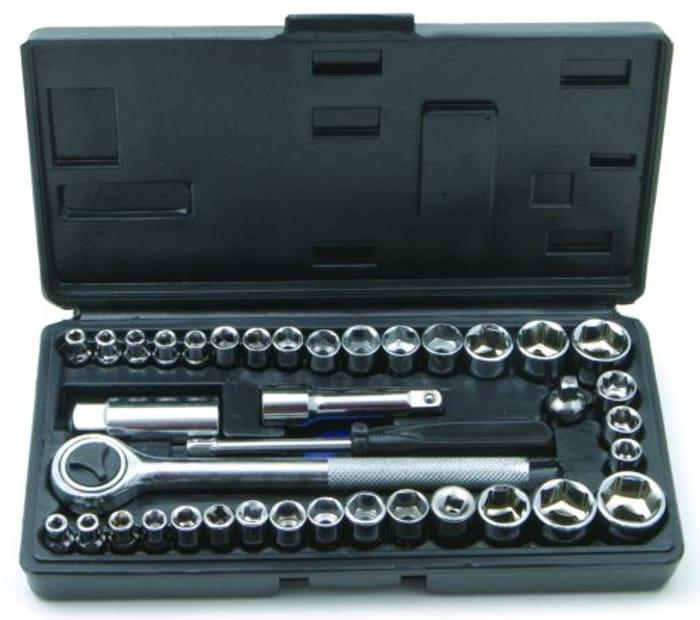 Rolson 40 Piece Socket Set - min order 6