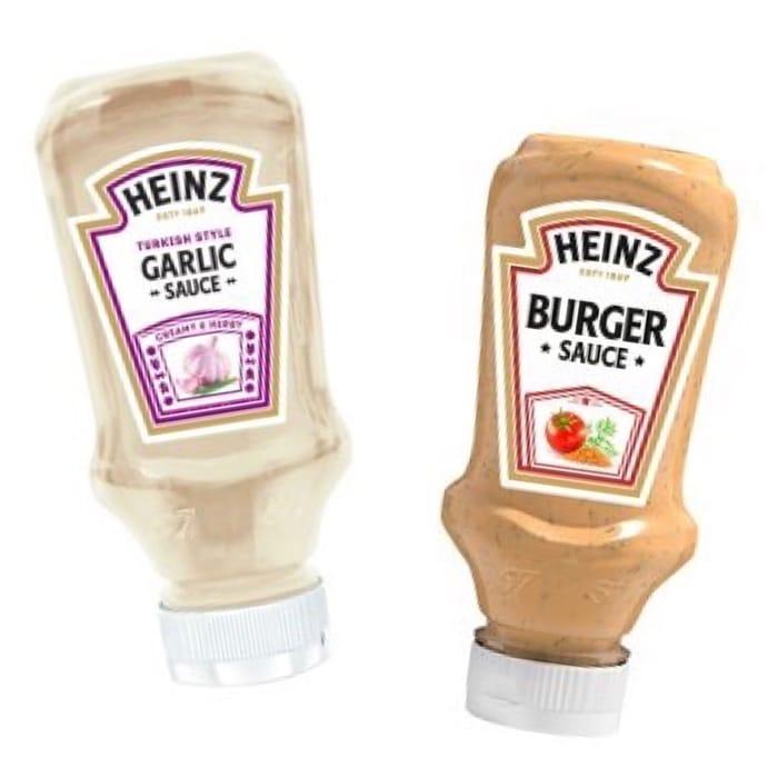Heinz - American Style Burger Sauce / Turkish Style Garlic Sauce 220ml