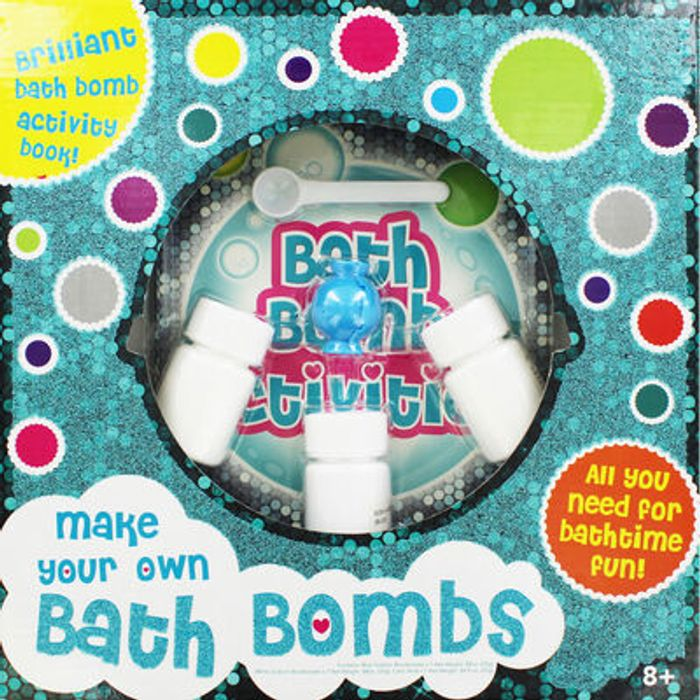 Cheap Make Your Own Bath Bombs at The Works