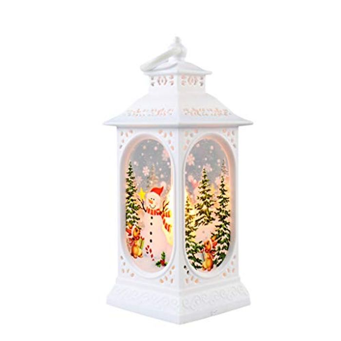 Beauteye Christmas LED Candle Lantern Table Decoration