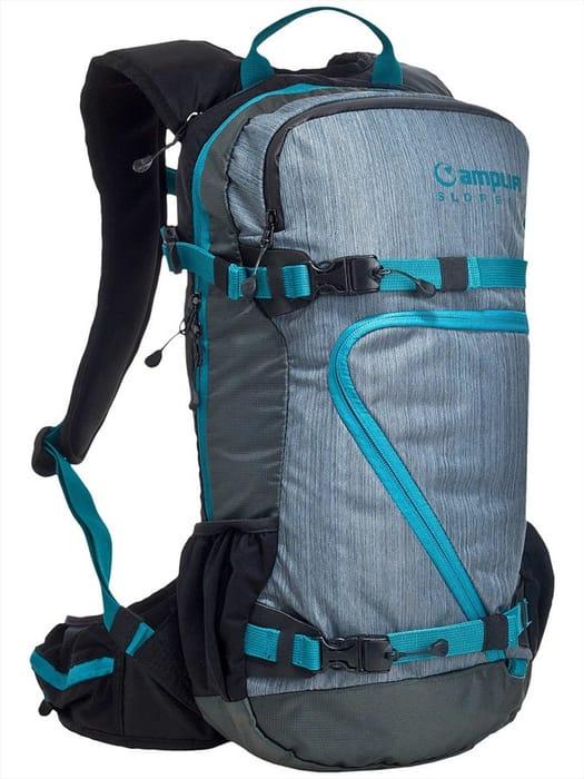 Amplifi Adult Unisex Slope Ski Snowboard Backpack, 18L Ultramarine