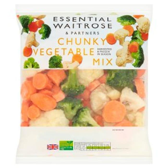 Waitrose Essential Chunky Vegetable Mix750g