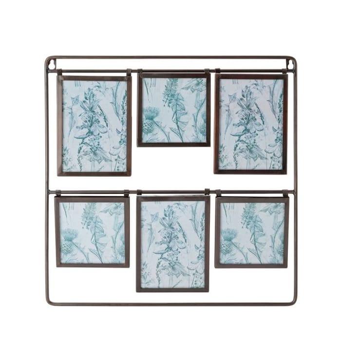 Argos Home Highlands Metal Multi Aperture Photo Frame