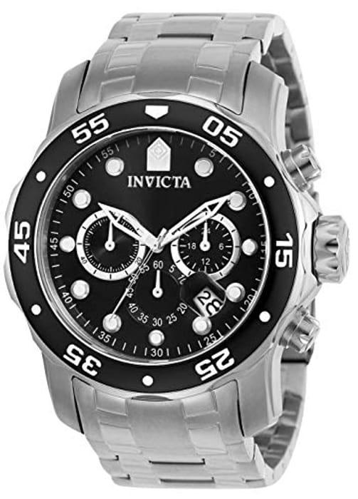 Invicta 0069 Pro Diver - Scuba Men's Wrist Watch Stainless Steel Quartz