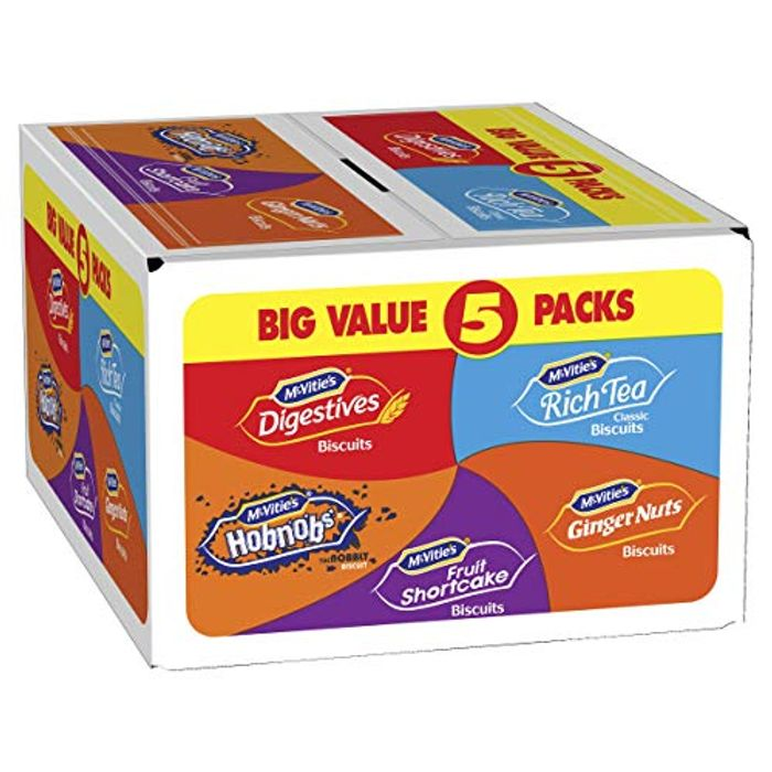 McVitie's Every Day Favourites Biscuits Selection 5 Pack