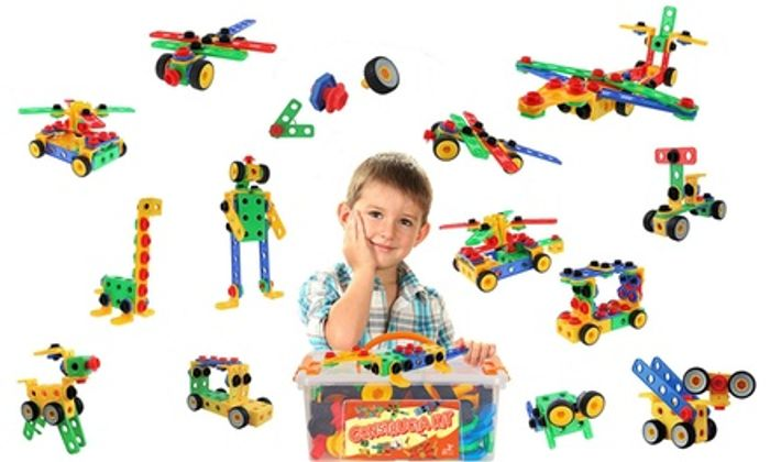85-Piece Junior Model Construction Kit