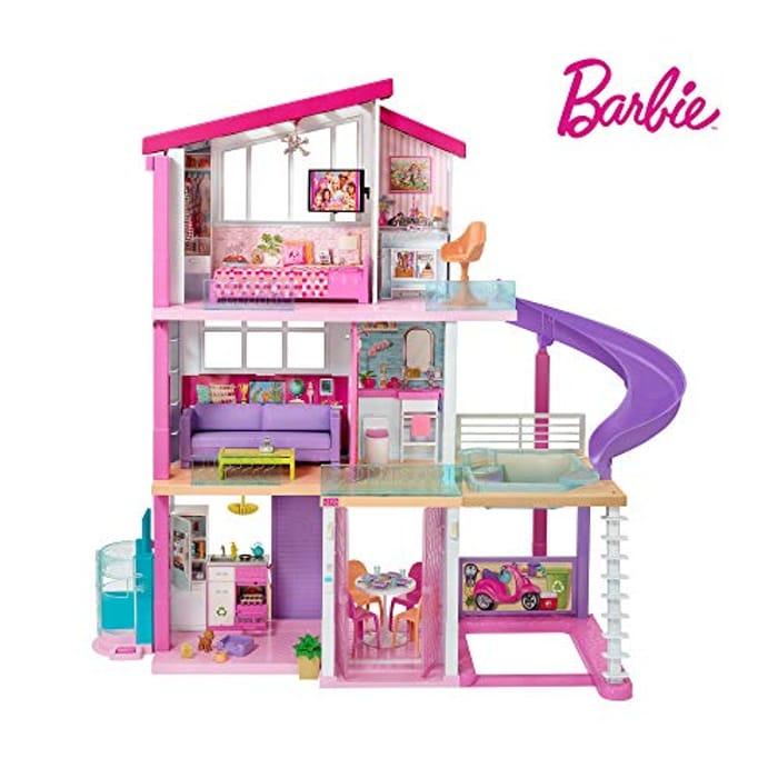 SAVE £50 at Amazon - Barbie Estate Dreamhouse - Three Storey Dolls House