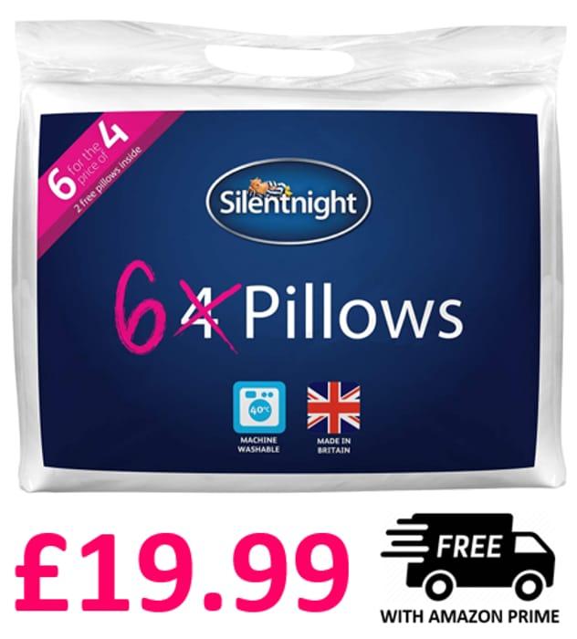 CHEAP! 6 PILLOWS for £19.99! Silentnight Ultrabounce Pillows