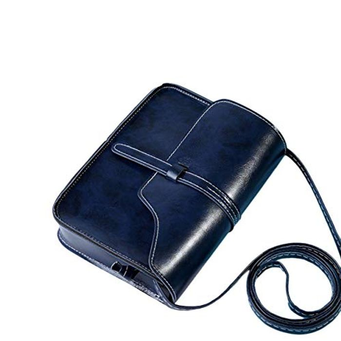 Cross Body Shoulder Bag Navy - Price Quoted Inc P&P