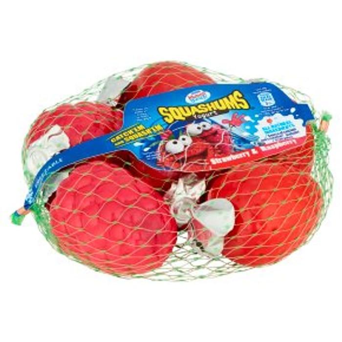 Munch Bunch Squashums Yogurt Strawberry Raspberry6x60g