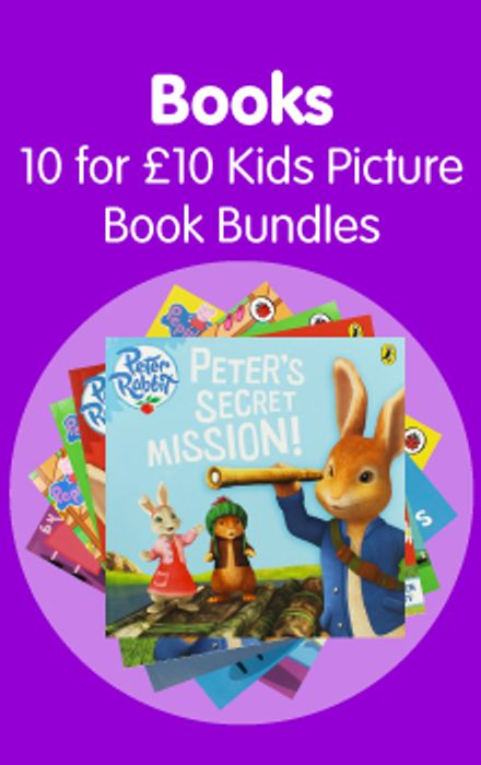CHEAP! We're Going on a Bear Hunt: Pack of 10 Kids Picture Books Bundle