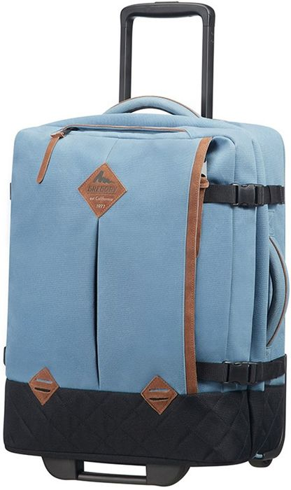 Gregory Sunbird Duffle with Wheels Wheeled Bag/Suitcase, 41L Blue