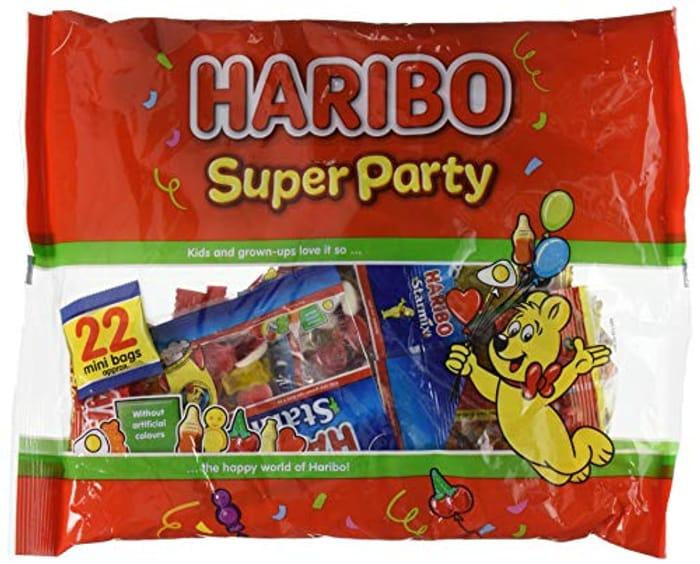 Haribo Mini Bag Sweets, 16g X 22 Bags (352g)