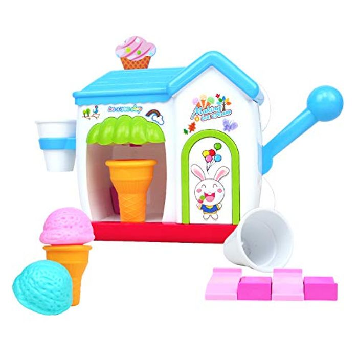 Baby Bath Toys Ice Cream Maker Toys with £10 off Coupon