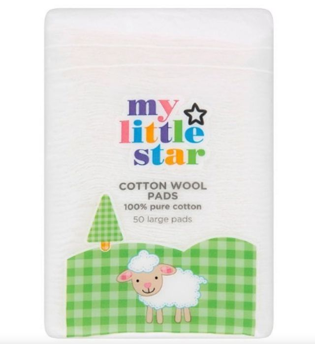 My Little Star Large Cotton Wool Pads 51