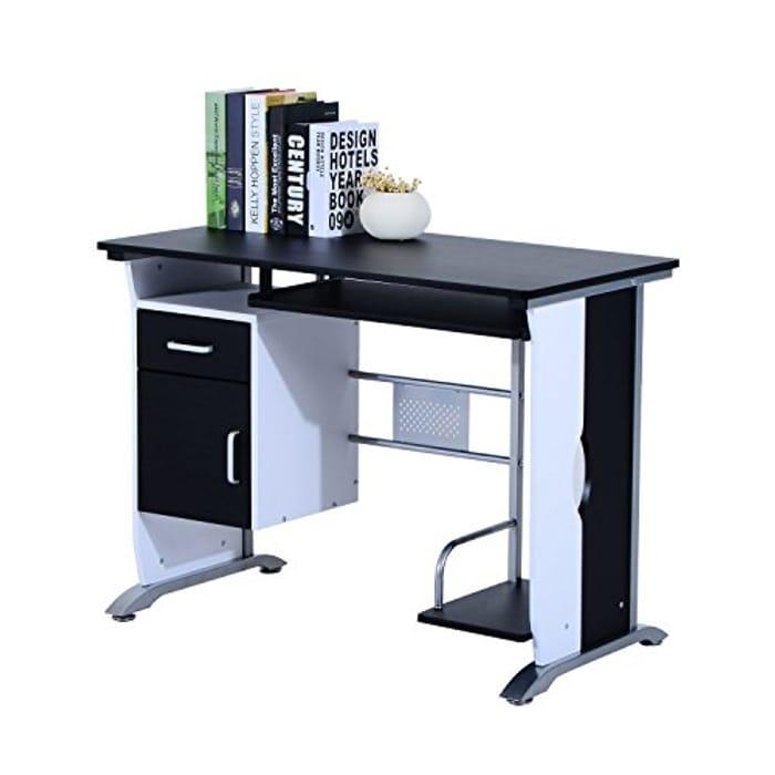 Computer Desk with Sliding Keyboard