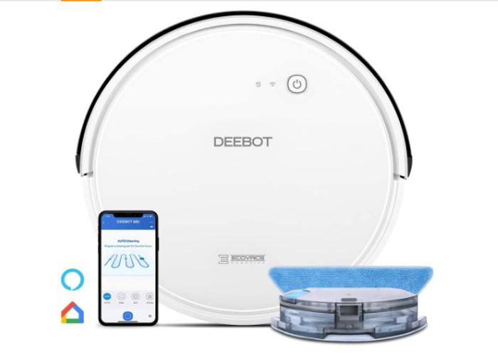 Ecovacs DEEBOT 605 Convertible or Mopping Robotic Vacuum Cleaner - Only £199.48!