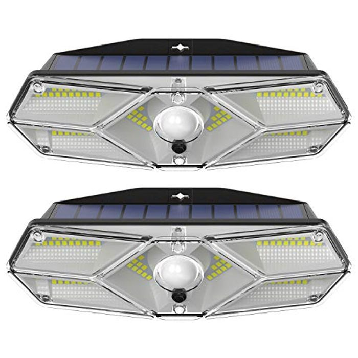 2 x Outdoor Solar Lights with £15 off Coupon