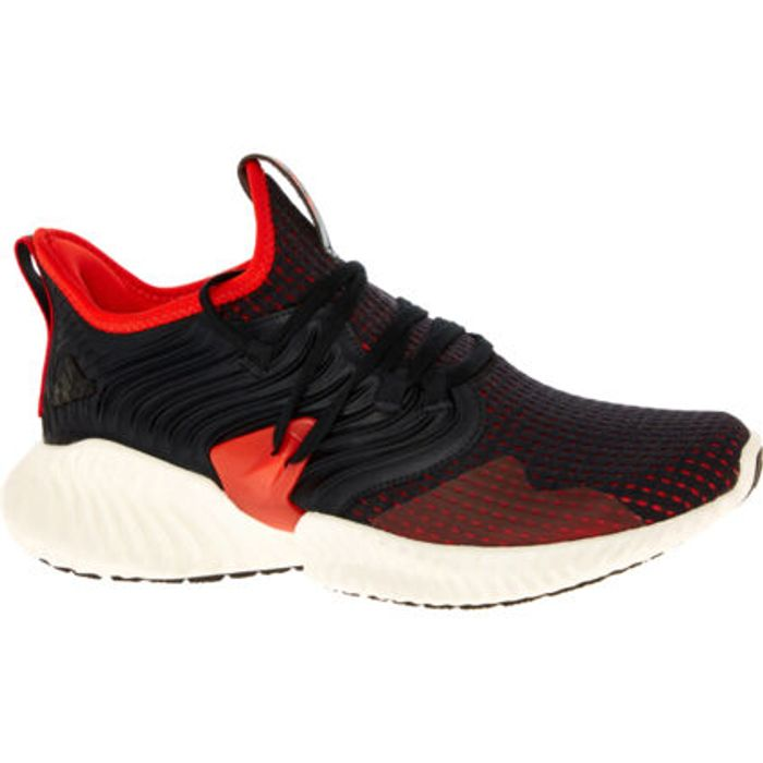 ADIDAS Black & Red Trainers