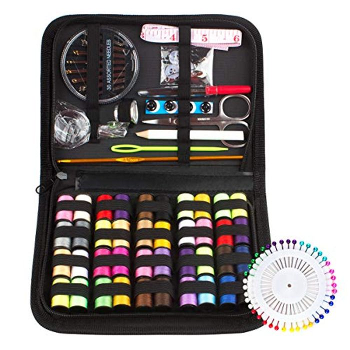 DEAL STACK - 128 Pcs Sewing Accessories Kits + Lightning + Coupon
