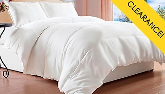 CHEAP! 13.5 Tog Super Bounce Back Luxury Winter Duvets from £16.69 Delivered